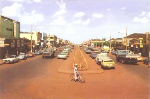 Dourados, avenida Marcelino Pires, 1976