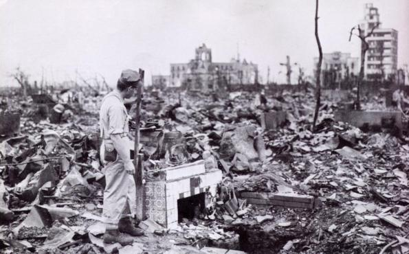Hiroxima após o ataque americano